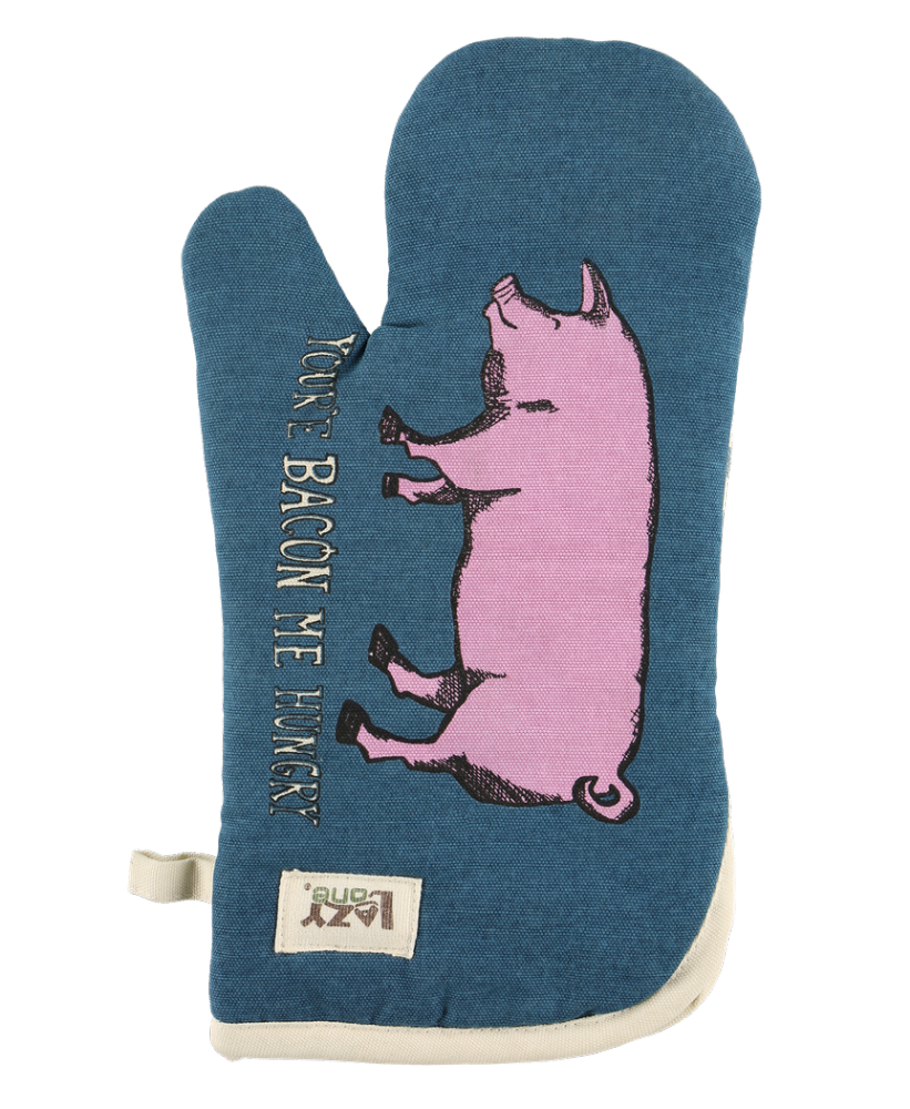 Bacon Me Hungry Pig Oven Mitt - Lazy One®